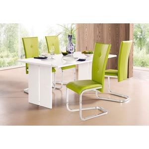 Tisch , weiß, »Bologna«, Hochglanz, FSC®-zertifiziert, Tecnos