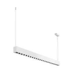Arcchio Oden LED-Rasterleuchte, up and down