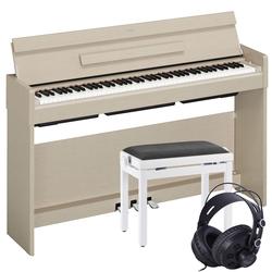 Yamaha Arius YDP-S34 Digitalpiano Weiß-Esche Set