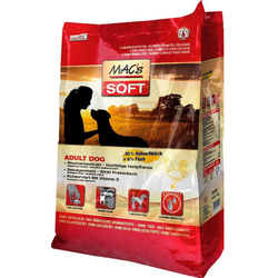 MAC'S Trockenfutter Soft Adult Dog Huhn & Fisch, für Hunde, 15 kg