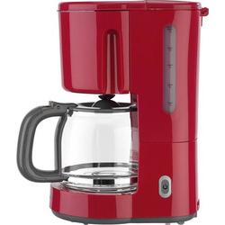 EFBE Schott SC KA 1080.1 ROT Kaffeemaschine Rot Fassungsvermögen Tassen=12 Glaskanne, Warmhaltefunk