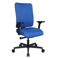 (P) Deluxe, Bürostuhl blau,