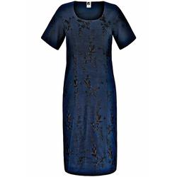 Abendkleid Kleid mit Rundhals Anna Aura marine