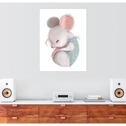 Posterlounge Wandbild, Mäuschen bei der Mittagsruhe 60 cm x 80 cm