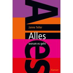 Alles - worum es geht als Buch von Janne Teller