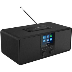 Philips R8805 Internet Radiowecker Internet, DAB+, DAB, UKW Bluetooth®, Internetradio, UKW Akku-Lad
