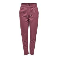 ONLY Einfarbige Hose Damen Rot Female XL