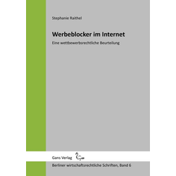 Werbeblocker im Internet als Buch von Stephanie Raithel/ Irmgard Küfner-Schmitt