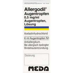 ALLERGODIL Augentropfen 6 ml