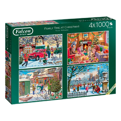 Falcon Puzzle Victor Mclindon Family Time at Christmas, Puzzleteile
