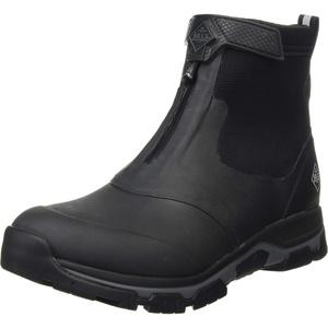 Muck Boots Herren Apex Mid Zip Gummistiefel, Black/Dark Shadow, 24.5 EU