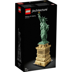 LEGO® Puzzle LEGO® Architecture 21042 Freiheitsstatue, Puzzleteile