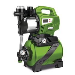 Cleancraft DWS 1105 - Hauswasserwerk, Selbstansaugende Pumpe für die Wasserversorgung in Haushalten (Garten oder zum Druckaufbau), Fördermenge 76 l/min