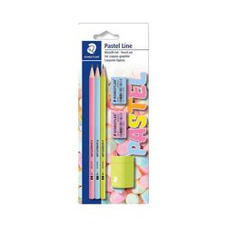 STAEDTLER Bleistift Bleistifte-Set Pastel Line