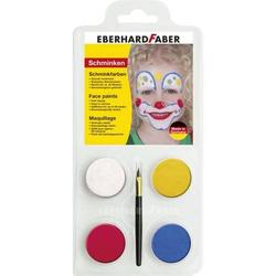 Schminkset 4er Set Clown Puderschminke