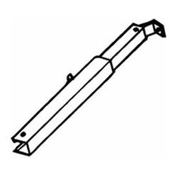 Thule-Omnistor Teleskoparm Thule Omnistor 2000, für Markisenlänge 2,6 m, links