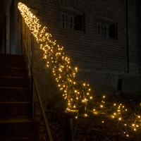 Konstsmide 3863-800 Büschellichterkette Außen netzbetrieben Anzahl Leuchtmittel 960 LED Beleuchtet