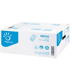 Werra Handtuchpapier 24x23cm, 2-lagig V-Falz weiß, 3750 Blatt