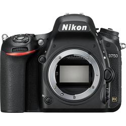 Nikon D750 Spiegelreflexkamera (24,3 MP, WLAN (Wi-Fi), Monitor RGBW-Technik mit über 1,2 Millionen Bildpunkten, AF-System mit 51 Messfeldern inklusive 15 Kreuzsensoren)