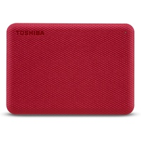 Toshiba Canvio Advance 4 TB USB 3.2 rot