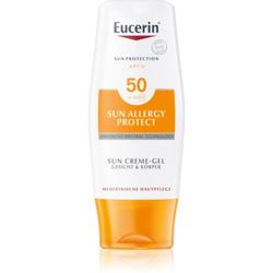 Eucerin Sun Allergy Protect schützende Gel-Creme zum Bräunen gegen Sonnenallergie SPF 50 150 ml