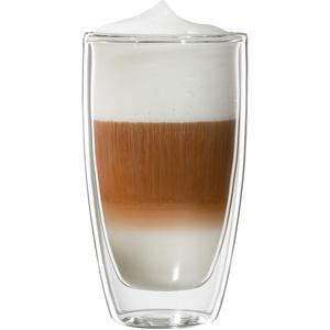 Latte-Macchiato-Glas , transparent, »Roma«, spülmaschinenfest, Bloomix