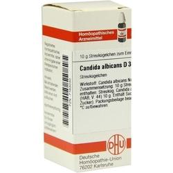 CANDIDA albicans D 30 Globuli 10 g