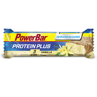 PowerBar Protein Plus Reduced in Carbs Vanille Riegel