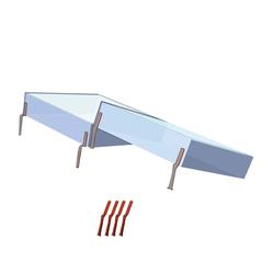 Juwel Hochbeet THERMOHAUBEN 65x60x12 cm 2 Stück Anzuchtbeet