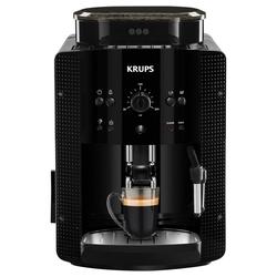 Krups Kaffeemaschine mit Mahlwerk EA81R8 Kaffee-Vollautomat schwarz