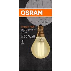 OSRAM LED EEK A+ (A++ - E) E14 Tropfenform 5W Warmweiß (Ø x L) 45.0mm x 78.0mm 1St.