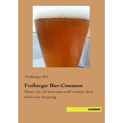 Freiberger Bier-Comment als Buch von