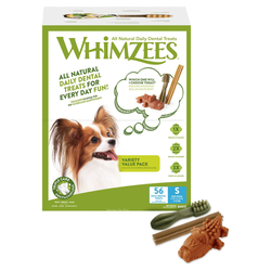 Whimzees Variety Value Box S - 56 Stück