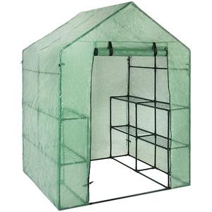 PVC-Pflanze Gewächshaus Abdeckung Wintergarten Pflanzenabdeckung Walk-in Gewächshaus Ersatz für Winter (Just Cover)