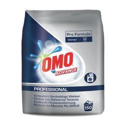 OMO Professional Advance Vollwaschmittel, Phosphatfreies Waschpulver, 12,25 kg - Sack für 150 Waschladungen