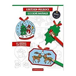 Kärtchen-Malblock Geschenkanhänger - Buch