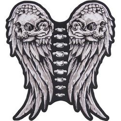 Aufnäher - Flügel Maße: 29,0 x 31,5cm