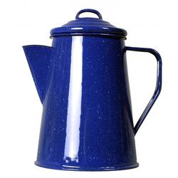 Emaille Kaffeekanne 1 L ca. 6 Tassen blau