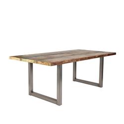 Pharao24 Tisch Ida, aus Massivholz 160 cm x 77 cm x 85 cm