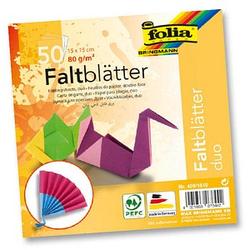 folia Faltblätter duo
