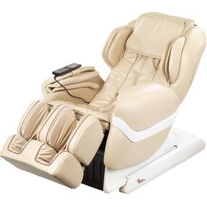 Luxus-Ganzkörper-Massagesessel GMS-150 mit Infrarot-Wärme, beige