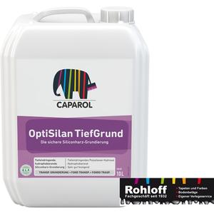 NEU Caparol OptiSilan Tiefgrund10L tiefeindringende hydrophobierende Grundierung