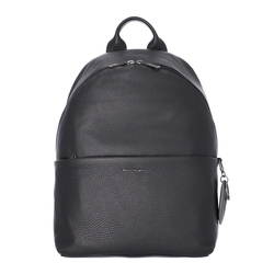 Mellow Leather Rucksack nero