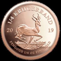 1/4 Unze Gold Krügerrand 2020 (lagernd Frankfurt)