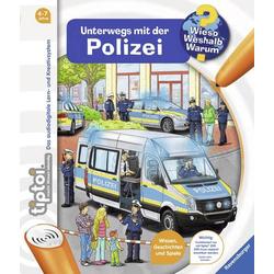 Ravensburger tiptoi® Unterwegs mit der Polizei tiptoi® Unterwegs mit der Polizei 32922