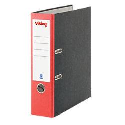 Viking Ordner 80 mm Karton 2 Ringe DIN A4 Rot