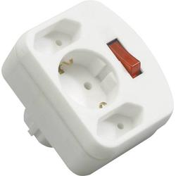 REV 00135101 Steckdosen-Verteiler Weiß