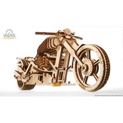 UGEARS 3D-Puzzle UGEARS Holz 3D-Puzzle Modellbausatz MOTORRAD VM-02, 189 Puzzleteile