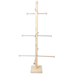 Stabiler Friesenbaum aus Holz, 66 cm