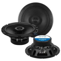 Crunch Multiroom-Lautsprecher (Crunch GTS62 - 16cm 2-Wege Koax Lautsprecher GTS 62)